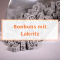 Lakritz Bonbons